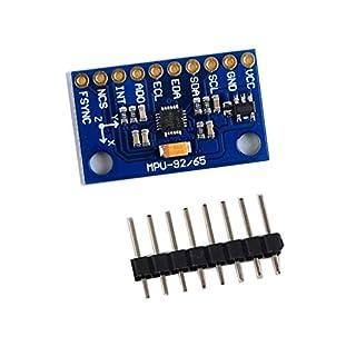 Goldyqin MPU 9250 GY-9250 SPI/IIC Communications 9-Axis Attitude Module Accelerator Magnetometer Sensor Board Module