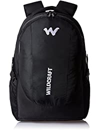 wildcraft Nylon 40 ltrs Black Laptop Bag (Trident XL 2_Black)