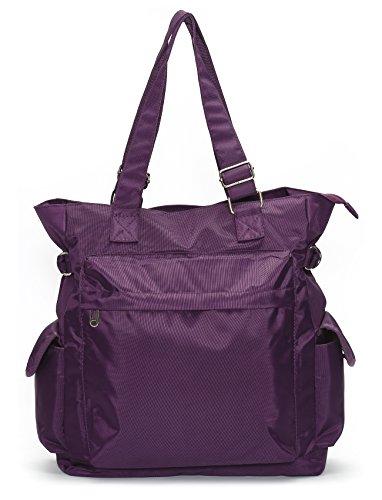 ALI VICTORY, Borsa a mano donna Large Purple