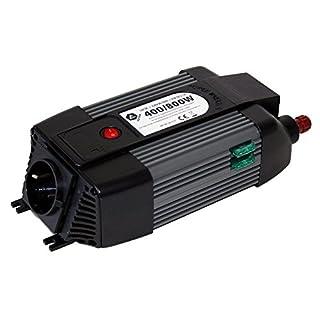 AUTONIK 351010 Spannungswandler 400/800W1 x 230 V, 1 x USB 2,1 A 400W/800W