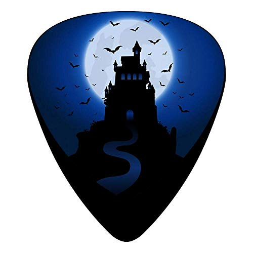Halloween House Celluloid Electric Guitar Picks 12-pack