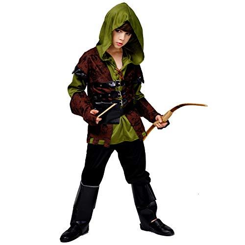 SEA HARE Junge mit Kapuze Hunter Kostüm (10-12 Jahre) (Kostüm Hunter Kinder)