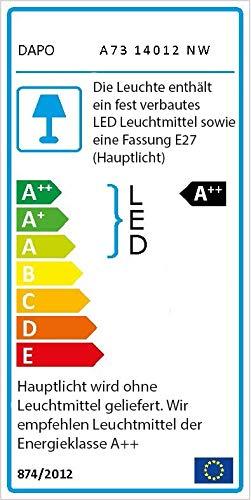 Häufig Dapo Leuchten: Edelstahl LED Außen-Leuchte Sockel-Leuchte Lisa KA58