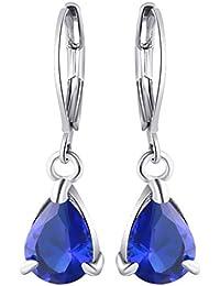 108ed57a8df5 Lomelomme Joyeria Pendientes Mujer Diamante de lujo temperamento Pendientes  de círculo geométrico Pendientes de personalidad 4