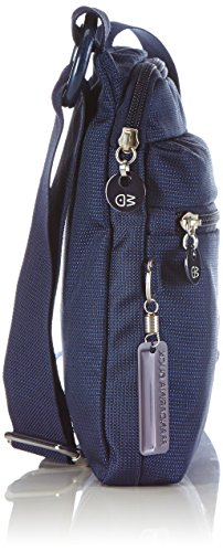 Mandarina Duck MD20 MINUTERIA DRESS BLUE 14216MM3 Damen Umhängetaschen 3x24x20 cm (B x H x T) Blau (Blue)