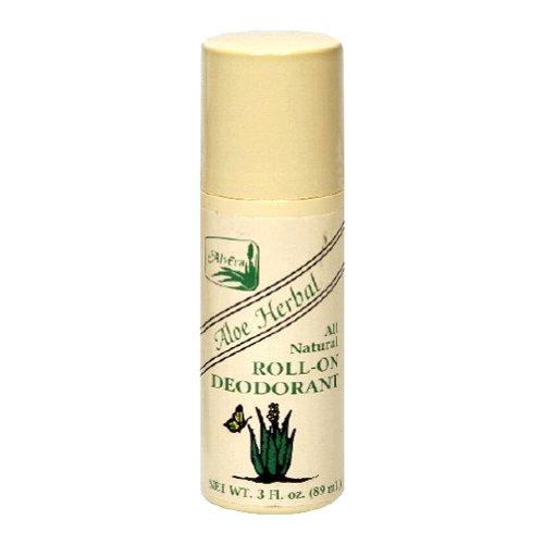 Alvera Aloe (Alvera Natürlicher Deodorant Roll-on auf Aloe Basis mit Kräutergeruch 90 ml)