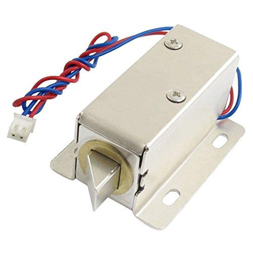 SODIAL (R) 0837L DC 12V 8W Open Rahmen Art Magnet fuer Elektrischen Tuerschloss