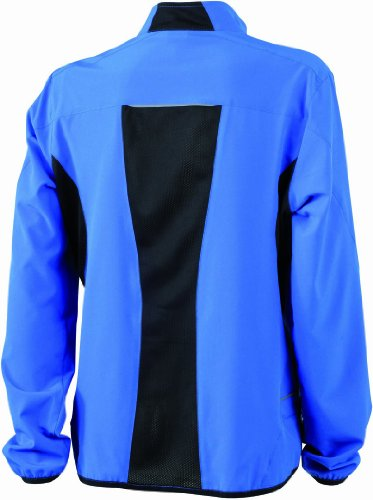 &james nicholson veste de course pour femme Bleu (royal/black)