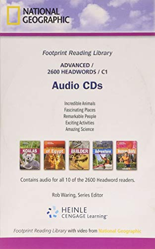 Footprint Reading Library Level 2600: Audio CDs