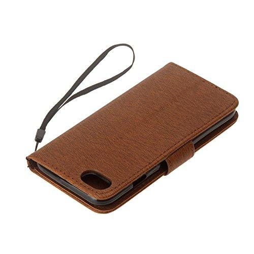 Cover iPhone 7 8, Sportfun Custodia Portafoglio In Pelle Con Wallet Case Cover Per iPhone 7 8 con Porta Carte e Funzione Stand (02) 02