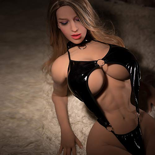 2018 2018 New Muscle 168cm Japanese Anime Big Breast Silicone Sex Doll, Realista de cuerpo completo Adult Love Metal Skeleton Doll