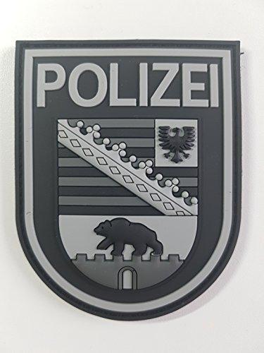 ATG Ärmelabzeichen Polizei Sachsen-Anhalt 3 D Rubber Patch (BlackOps)