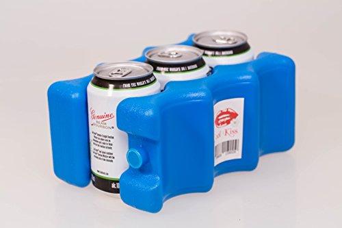 Hochwertiger Kühlakku – Optimale Kühlung, durch das praktische Kühlpack – einzigartiges Zubehör für Kühlboxen / Kühltaschen, zum praktischen Einsatz für zu Hause und unterwegs