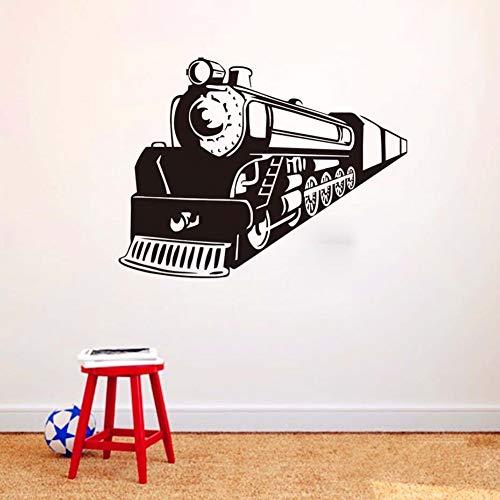 Heißer verkauf zug Apache Vinyl Wandkunst Retro zug Wache wand cartoon Wandtattoo Coole ModeWandaufkleber 76x58 cm