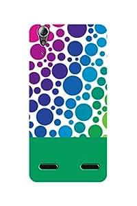 ZAPCASE PRINTED BACK COVER FOR LENOVO A6000 - Multicolor