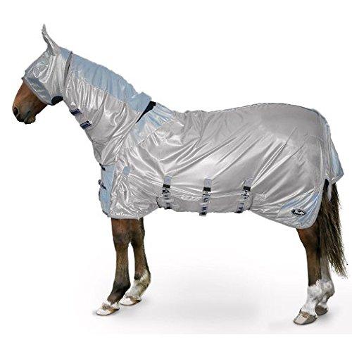gallop-couverture-tout-en-un-poney-cheval-fly-tapis-sable-bleu-masque-anti-mouches-argent-6ft-0-cm