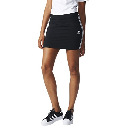 Adidas 3Stripes Skirt Gonna da tennis, Donna, Donna, 3Stripes Skirt, nero, 34