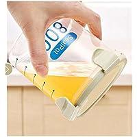 fishroll 600ml transparent Kunststoff versiegelt Kühlschrank Erhaltung Dosen Kitchen Food Behälter (grün)