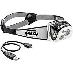 PETZL Reactik Lampe Frontale Mixte Adulte, Noir, Taille Unique