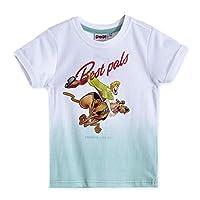 Scooby-Doo Boys T-Shirt,white/Light Blue