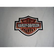 Parche para planchar Harley Davidson 12x 9cm Patch Águila Eagle Shield Moto Motocicleta Club
