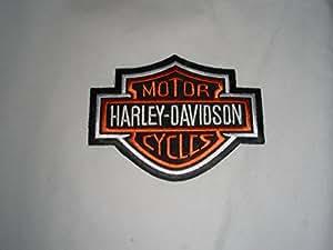 Patch patch patch harley davidson :  env. 4,5 x 4,0 cm-adler eagle shield motorradclub moto