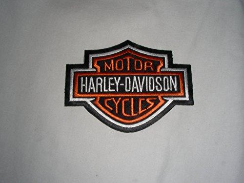 Artículo Se al día siguiente Envío.Harley Davidson aufbügler 5x 4cm se también para coser Shipping Next Day 3–5Day to England, France, Italy, Spain