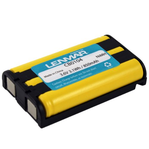 LENMAR CB0104 Panasonic(R) KX-TG Series Cordless Phone Replacement Battery  available at amazon for Rs.2219