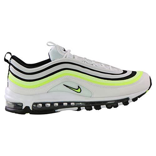 Nike Air Max 97 Se, Chaussures de Trail Homme, Multicolore (White Barely Volt Black 101), 43 EU