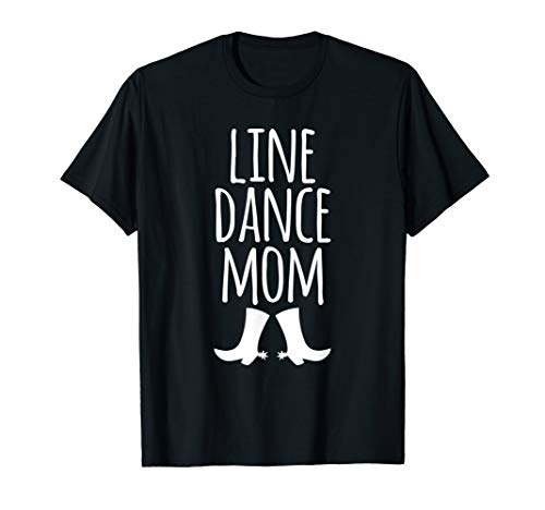Kostüm Line Dance - I love Line Dance Mom Paartanz Westerntanz Country Music T-Shirt