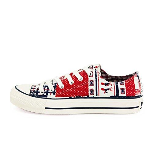 Automne/hiver chaussures avec toile/Coupe-bas chaussures/Chaussures plates occasionnelles C