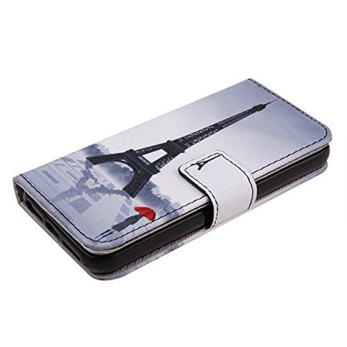 Felfy Iphone 5C Cover, Iphone 5C Custodia, Magnetico Portafoglio PU Pelle Flip Custodia Caso Elegante Borsa Protettiva Stand Case Cover Supporto rigido per Apple iPhone 5C con Free Pellicola Schermo & modello#1