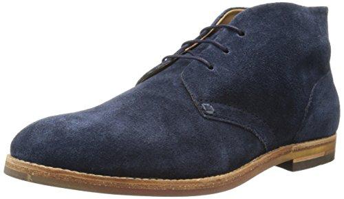 Hudson London Herren Houghton 3 Chukka Boots Blau (Navy)