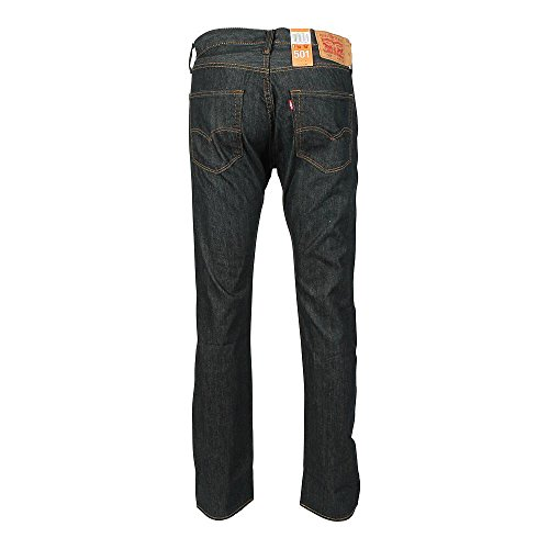 Levi's Herren Jeans 501 Original Straight Fit Blue (Clean Fume 1155)