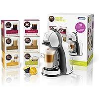 NESCAFÉ Dolce Gusto Mini Me Coffee Machine Starter Kit by De'Longhi, White/Black