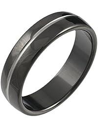 CORE by Schumann Design Herren-Ring Titan Titanium Black Collection TT071.01-62