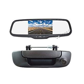 Vardsafe-VS206C-Rckfahrkamera-mit-Rckfahrgriff-und-Clip-on-Spiegel-Monitor-fr-Dodge-Ram-1500-2500-3500-2002-2008