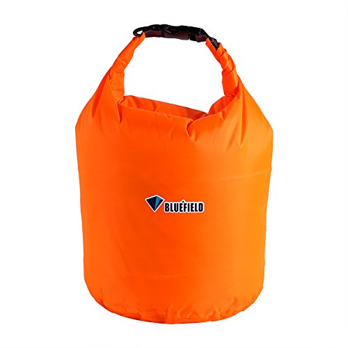 Dilwe impermeabile Floating Dry Bags, borsa portaoggetti per barca, pesca, rafting, nuoto e campeggio, diversi colori e capacità, Orange, XS