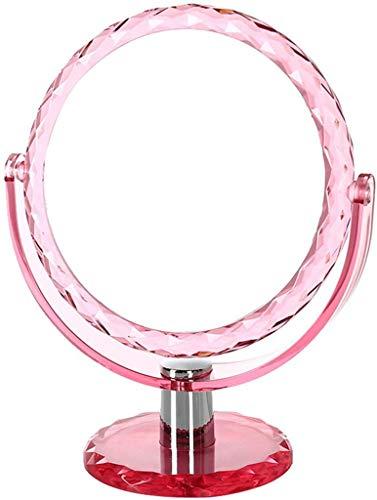SJBF Espejo de Maquillaje Artículos for el hogar compone el Espejo con Luces y Lupa de Montaje en Pared...