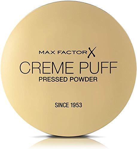 Max Factor Cipria Compatta Creme Puff, Cipria Opacizzante Effetto Matte, Texture Leggera, 013 Nouvea Beige
