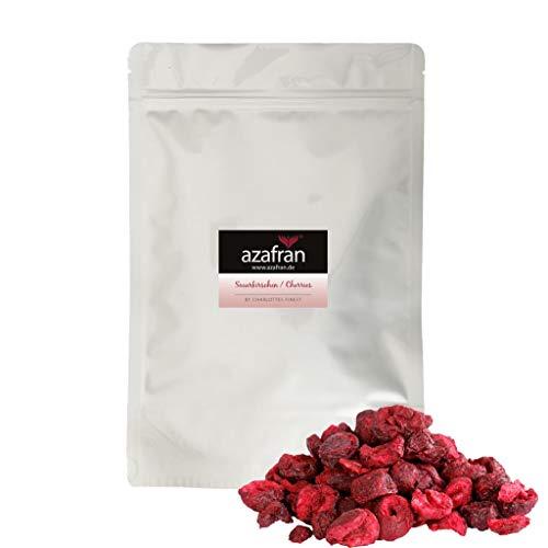 Azafran Sauerkirschen gefriergetrocknet Kirschen in Scheiben 250g