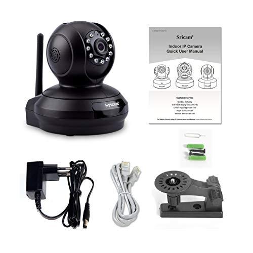 Preisvergleich Produktbild SP019 1080P HD Home Surveillance Camera Baby Monitor Night Vision WiFi Indoor IP Security Camera P2P PTZ Support TF Card