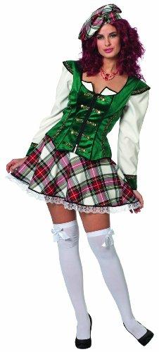 Für Kostüm Angel Force Erwachsene Air - Wilbers Federbein Highland Lass Kostüm