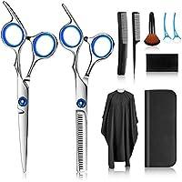 Haarschere, Scheren-Sets, Friseurscheren aus Edelstahl zum Ausdünnen und Strukturieren, Modellieren Professionelle…