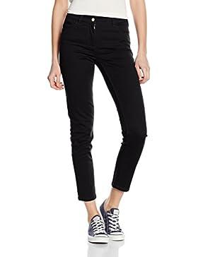 Stefanel - Pantalone Skinny Tinto Capo, Pantalón de mujer, negro, 42