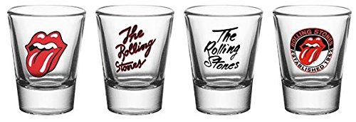 GB eye LTD, The Rolling Stones, Mix, Vasos de chupito 20 ml