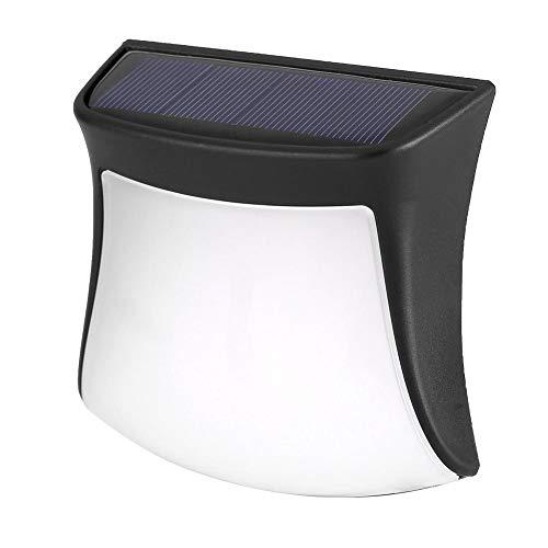 Zerodis Solarlichter im Freien Wasserdichte Bewegungs Sensor Wand Licht Solar angetriebenes Sicherheits Licht im Freien solarlampen für Garten Zaun Patio Hof Gehweg Auffahrt Treppen (Warmweiß) -