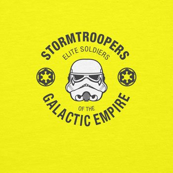 NERDO - Elite Soldiers - Herren T-Shirt Gelb