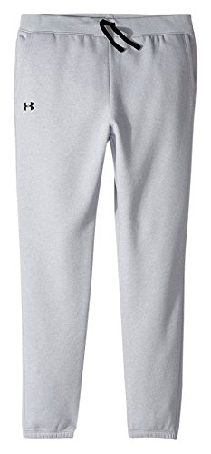 Under Armour Damen Favorite Fleece Jogger Oberteil, Overcast Gray, S