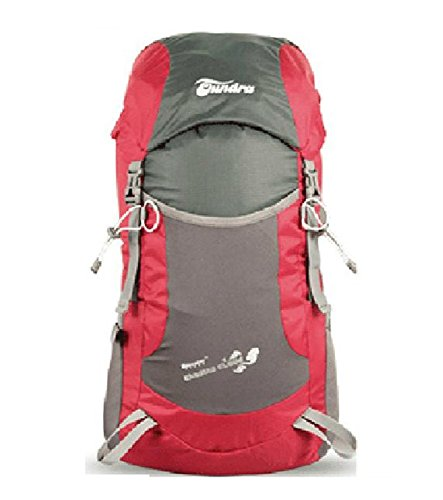 Imagen de skl ultra ligero impermeable 35l plegable  escalada montañismo senderismo camping viaje bolsa de hombro, rojo
